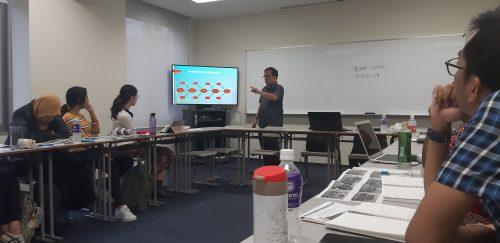 Dalam rangka Academic Exchange Program, tanggal 22 oktober 2019 Ketua Program Studi MPKP Vid Adrison, Ph.D. menjadi dosen tamu di Rikkyo University.